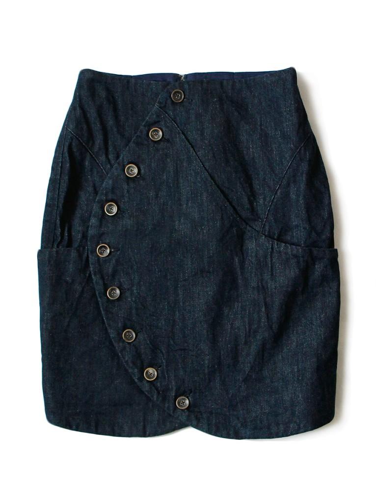 12ozデニム パンスカート