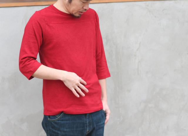 GOHEMP【ゴーヘンプ】BASIC FOOT BALL TEE
