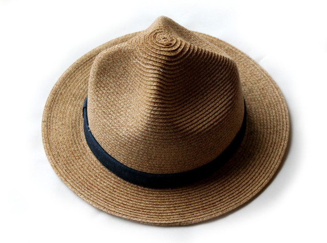 GOHEMP【ゴーヘンプ】MOUNTAIN STRAW HAT