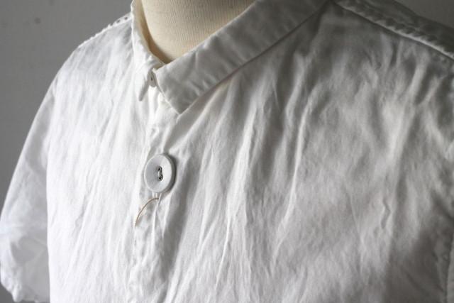 OX ちび衿マーブルシャツ(半袖