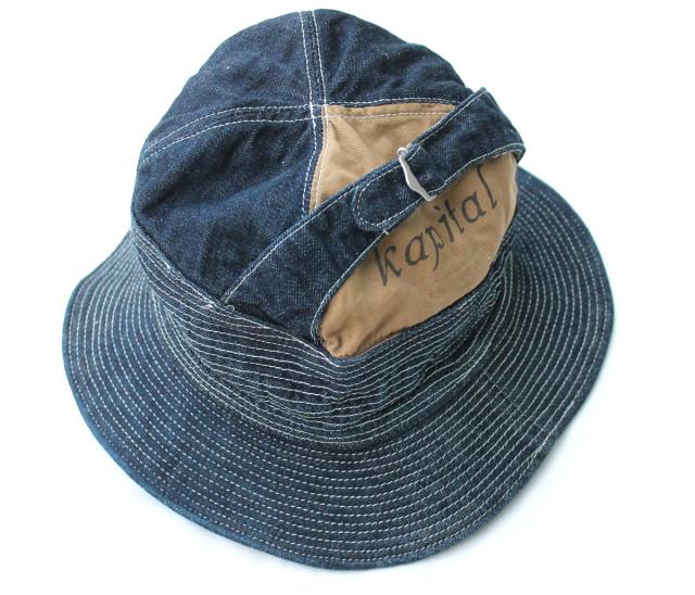 12ozデニム 老人と海HAT