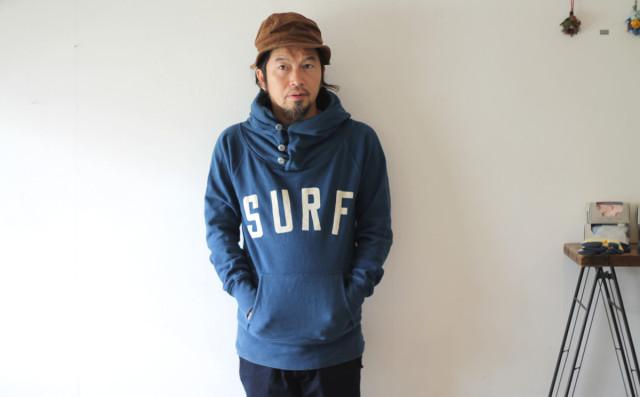 KAPITAL【キャピタル】後染め裏毛 SURFスウェット
