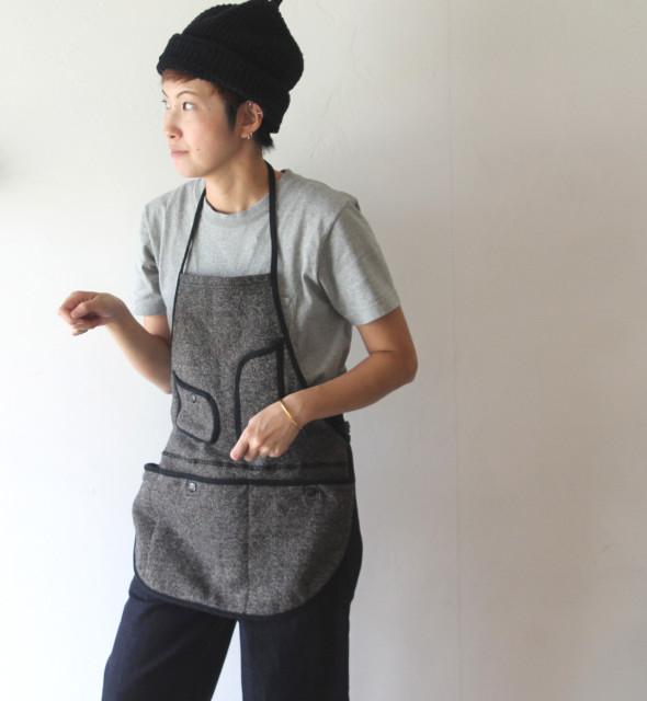 KAPITAL【キャピタル】ビーチ裏毛エプロン
