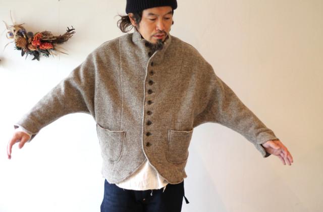 KAPITAL【キャピタル】チロルウール ドルマンジャケット088