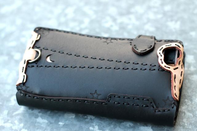 GOHEMP×Ojaga【ゴーヘンプ×オジャガデザイン】WASAT BLACK iphone6/6s case