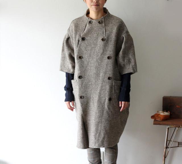 KAPITAL【キャピタル】チロルウール 女の子パフコート