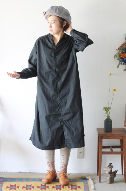 KAPITAL【キャピタル】ブロードNAPEシャツワンピース008