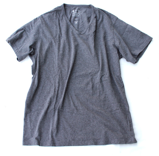 REMILLA【レミーラ】MarbleV-neck tee029