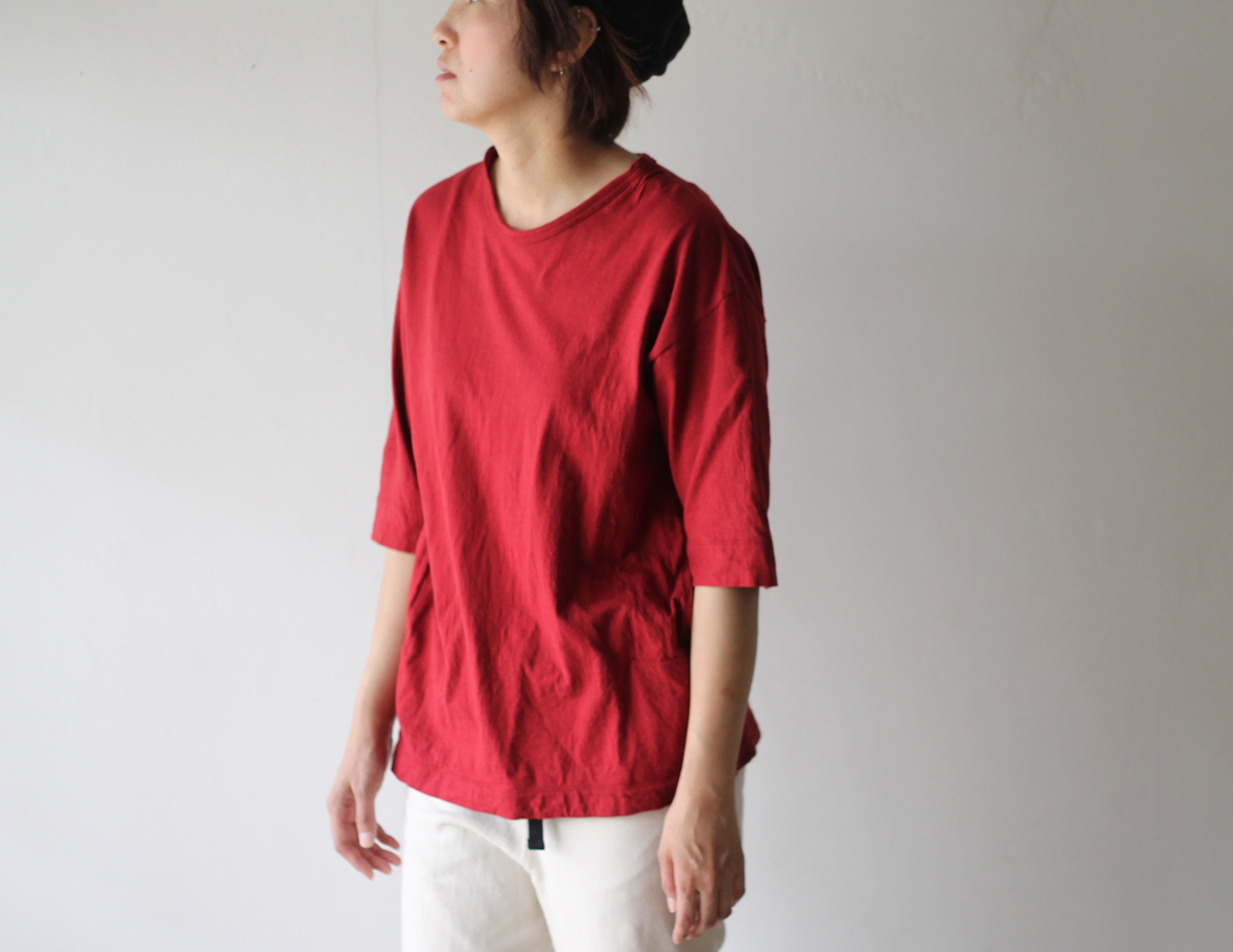 HiHiHi【ひひひ】五分袖ポケットTシャツ120