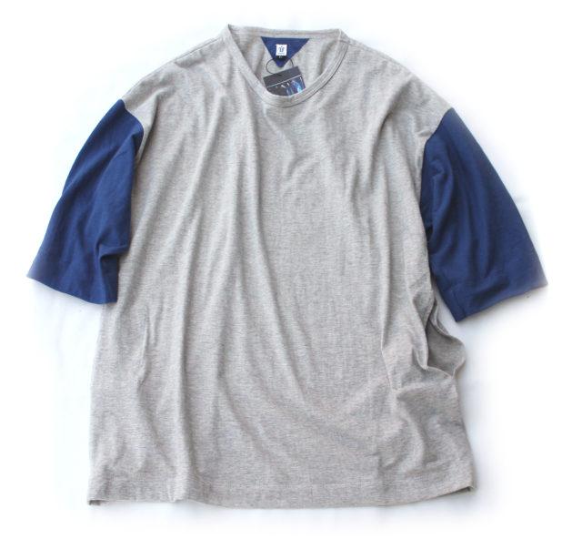 HiHiHi【ひひひ】五分袖ポケットTシャツ194