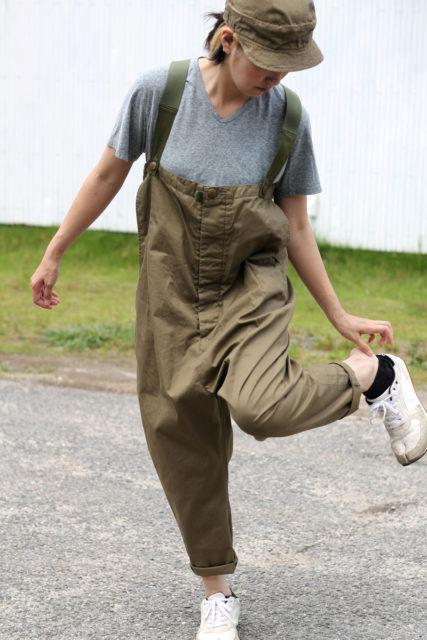 KAPITAL【キャピタル】ベンタイルチノバスオーバーオール071