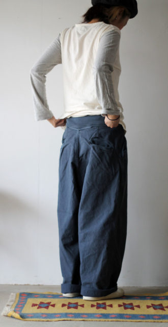 KAPITAL【キャピタル】薄キャンバス バグヌーベルパンツ168