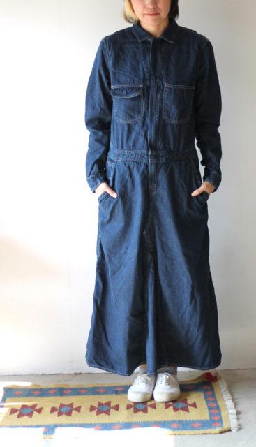 シャツデニム オールインワンスカート208
