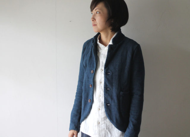 KAPITAL【キャピタル】IDG裏毛 ファームジャケット277