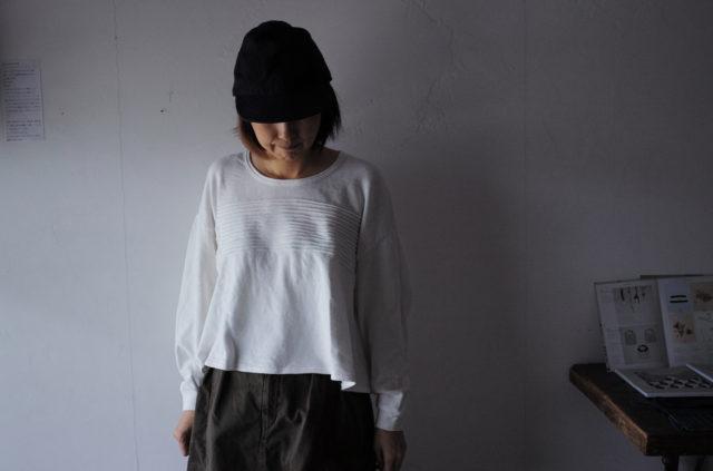 KAPITAL【キャピタル】ガーゼ裏毛ボーダータックベルジBIGスウェット106