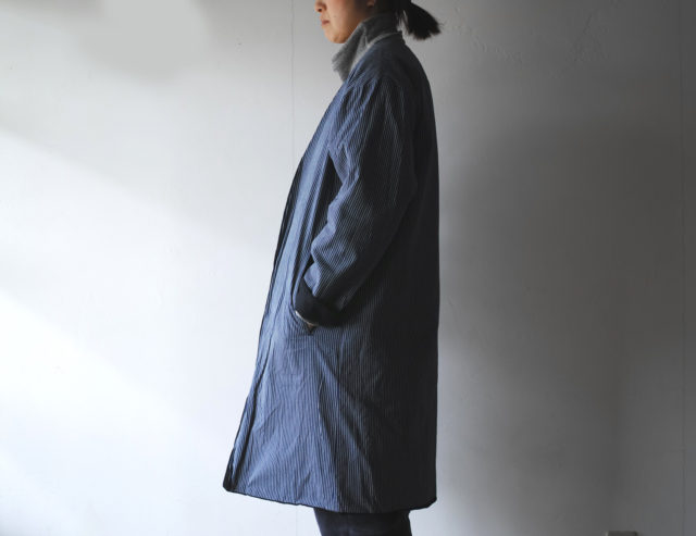 HiHiHi【ひひひ】羽織 インディゴ刺子116