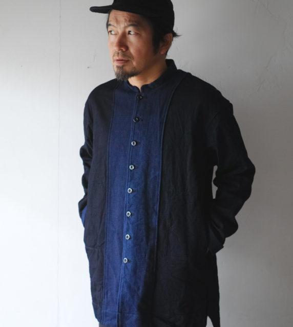 HiHiHi【ひひひ】長上衣 インディゴ117