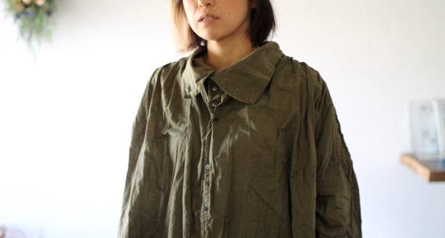 KAPITAL【キャピタル】一重ガーゼ ハイチンBIGシャツ130