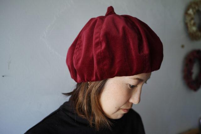 JUUGO×MOROCCO【ジュウゴ×モロッコ】M15帽 別珍036